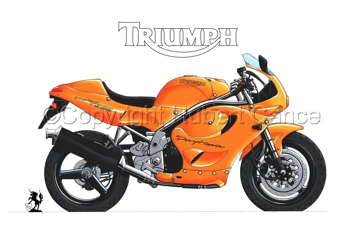 Triumph T595 (Logo #1.1) (large view)