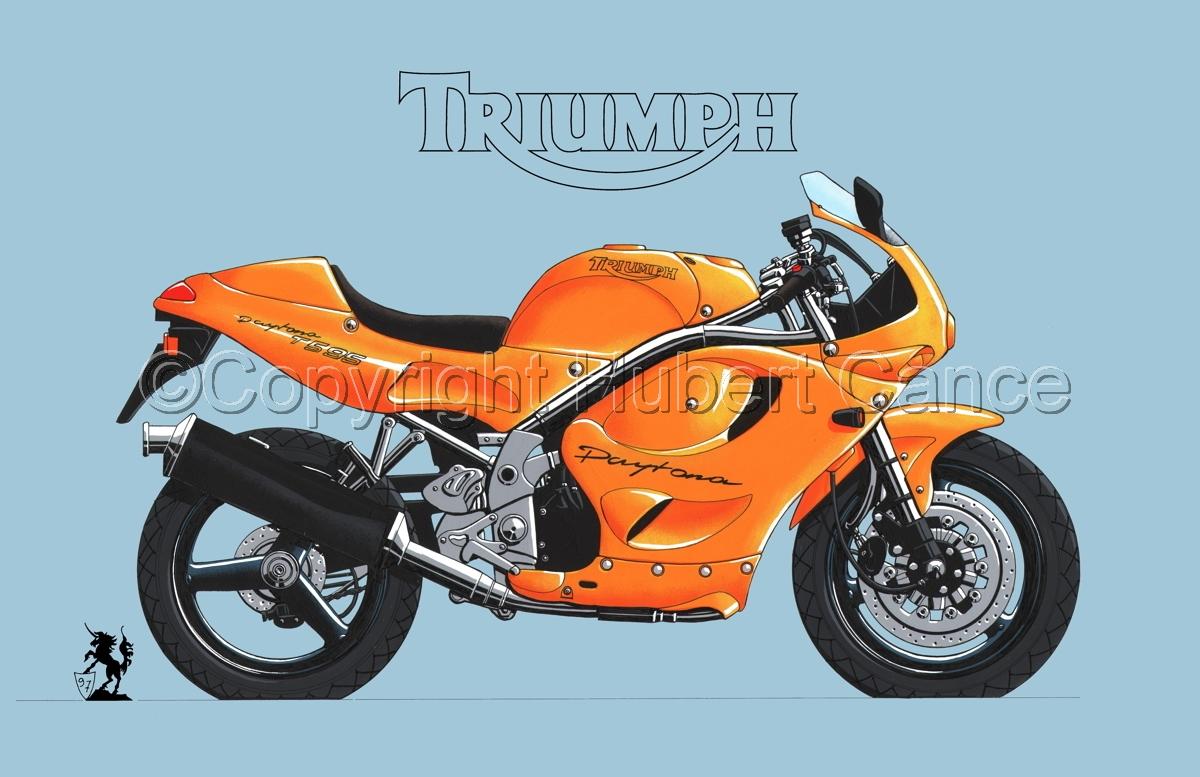 Triumph T595 (Logo #1.2) (large view)