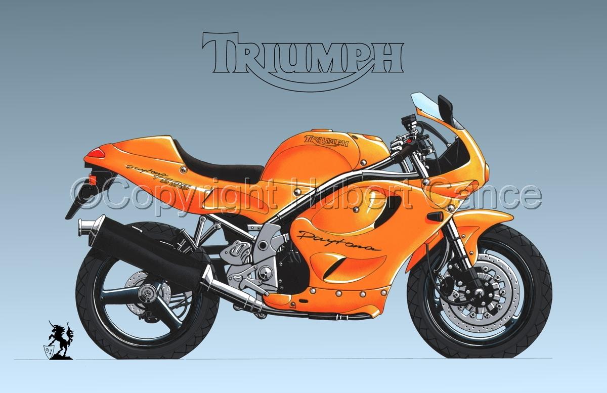 Triumph T595 (Logo #1.3) (large view)