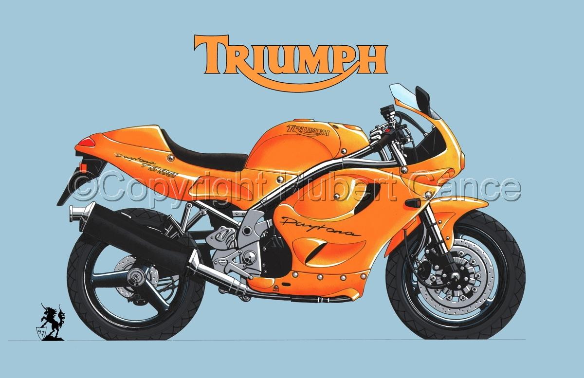 Triumph T595 (Logo #2.2) (large view)