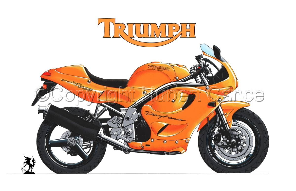 Triumph T595 (Logo #2.1) (large view)