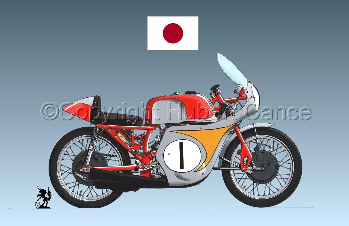 "Honda ""Mike Hailwood"" (Flag #1.3) (large view)"