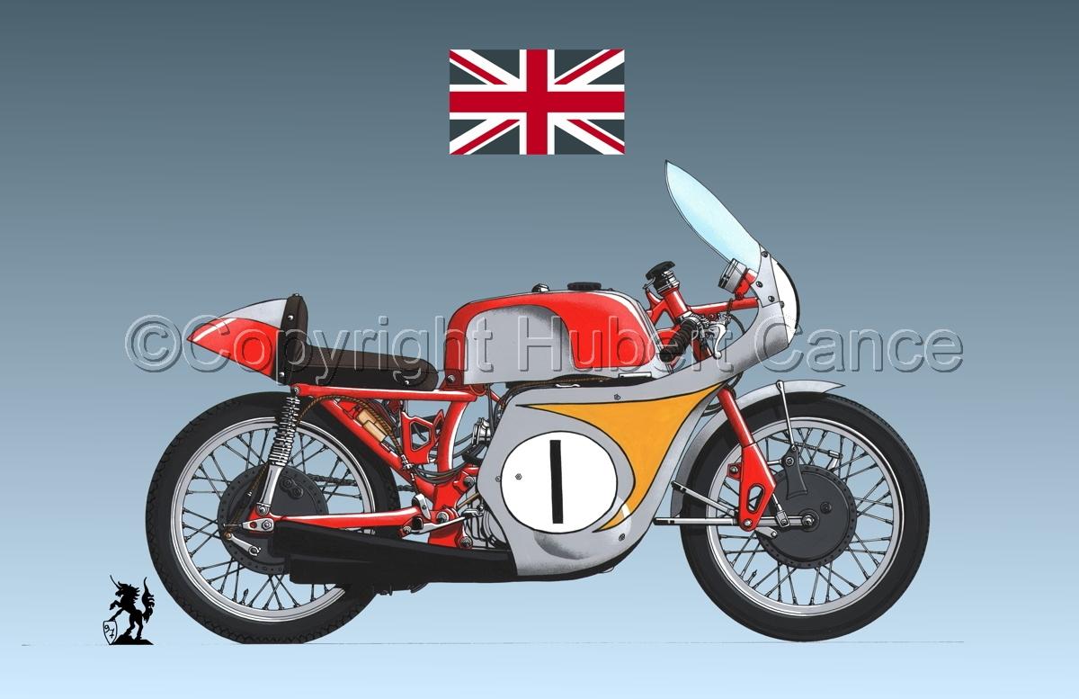 "Honda ""Mike Hailwood"" (Flag #2.3) (large view)"