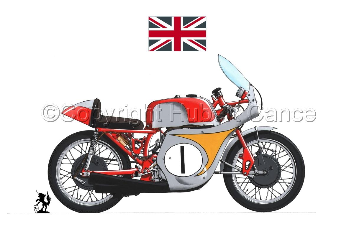 "Honda ""Mike Hailwood"" (Flag #2.1) (large view)"