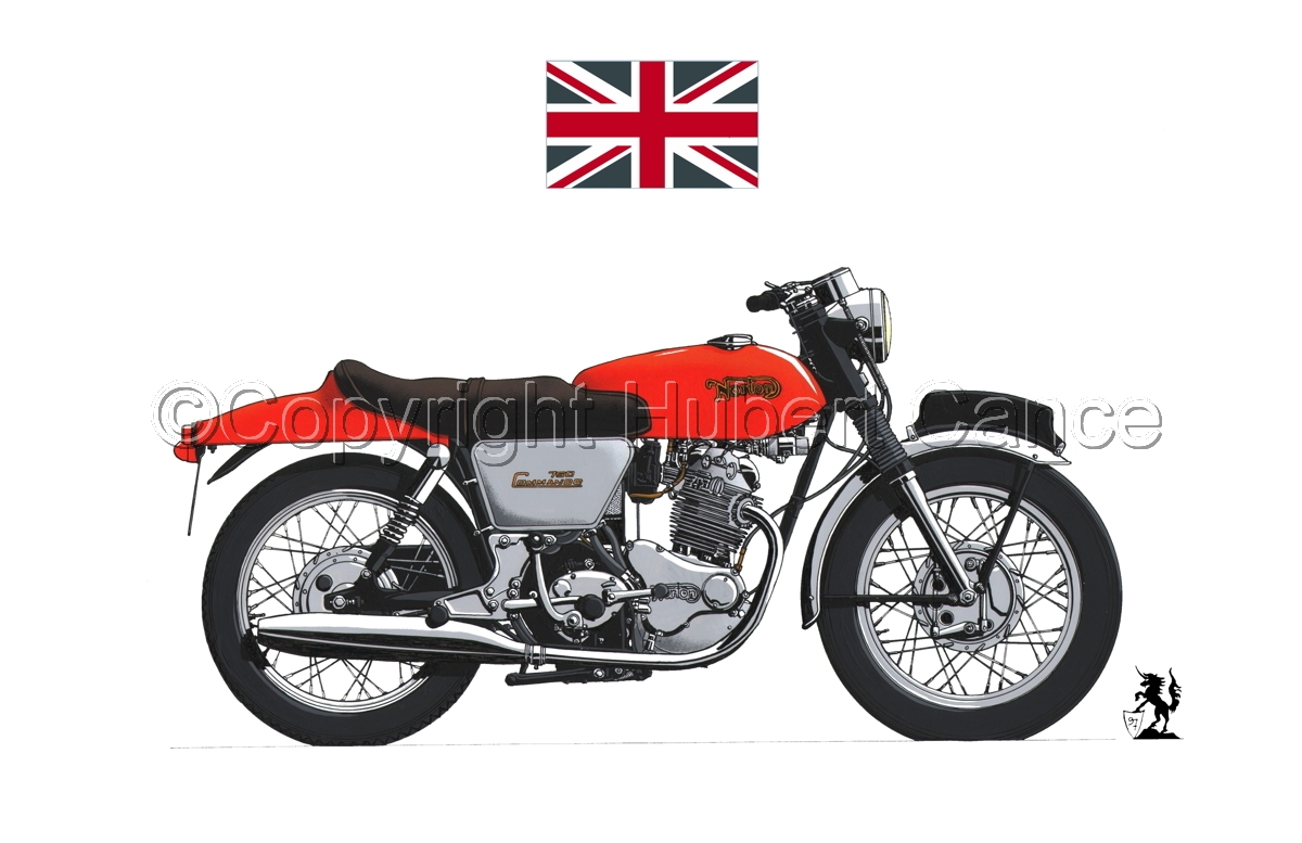 "Norton 750 ""Commando"" (Flag #1.1) (large view)"