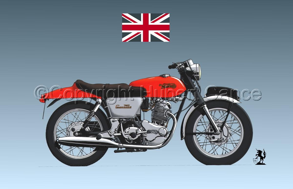 "Norton 750 ""Commando"" (Flag #1.3) (large view)"