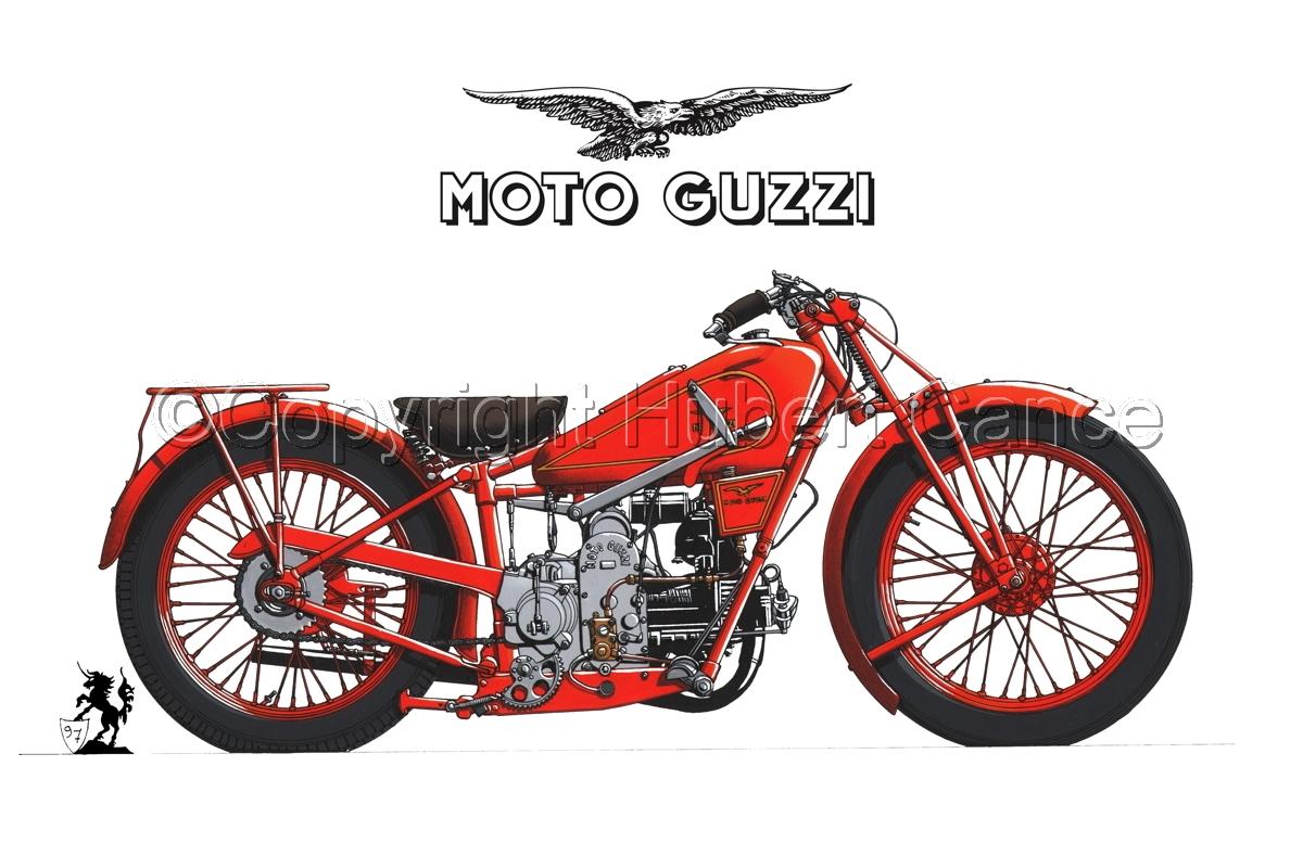 Moto Guzzi 500S (Logo #1.1) (large view)