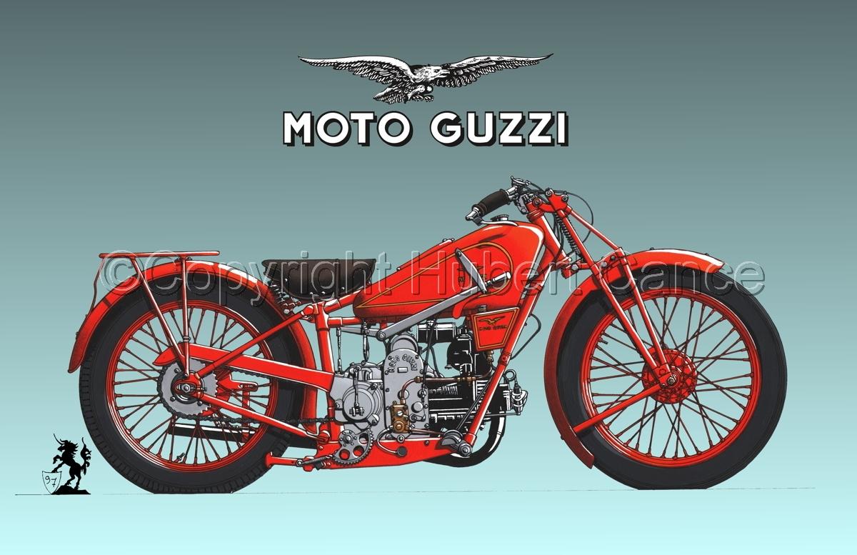 Moto Guzzi 500S (Logo #1.3) (large view)