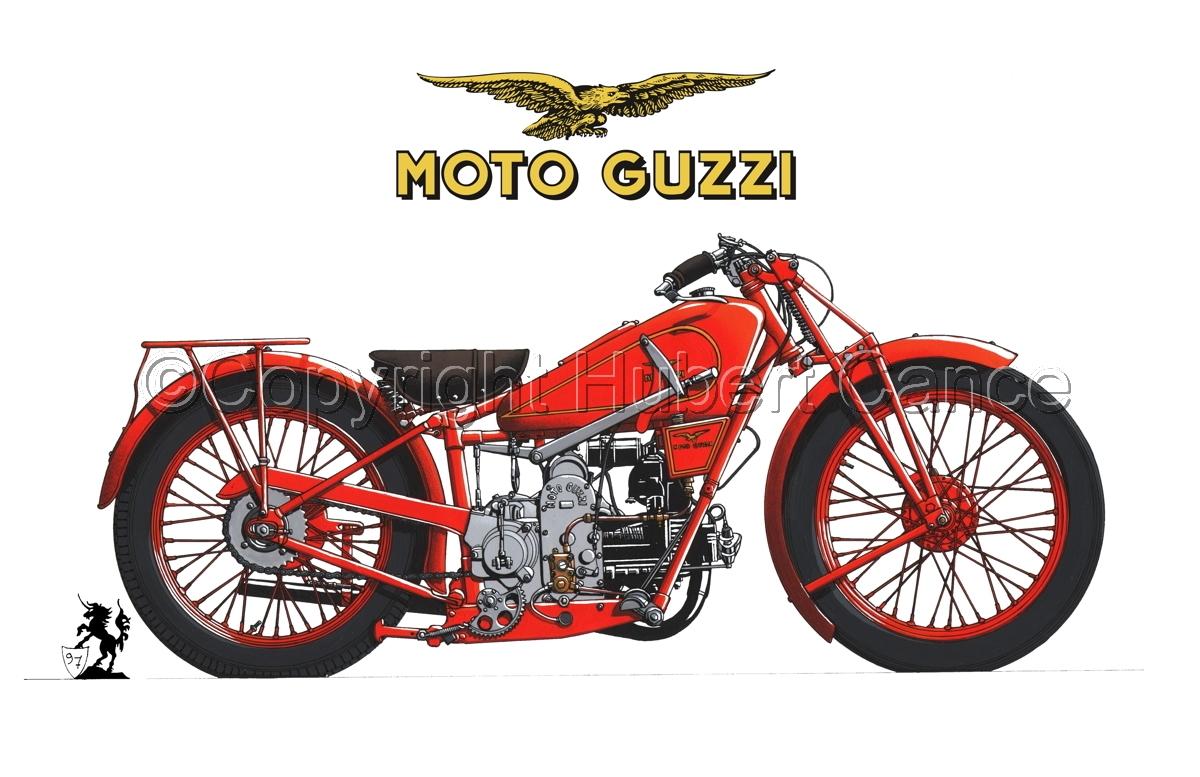 Moto Guzzi 500S (Logo #2.1) (large view)