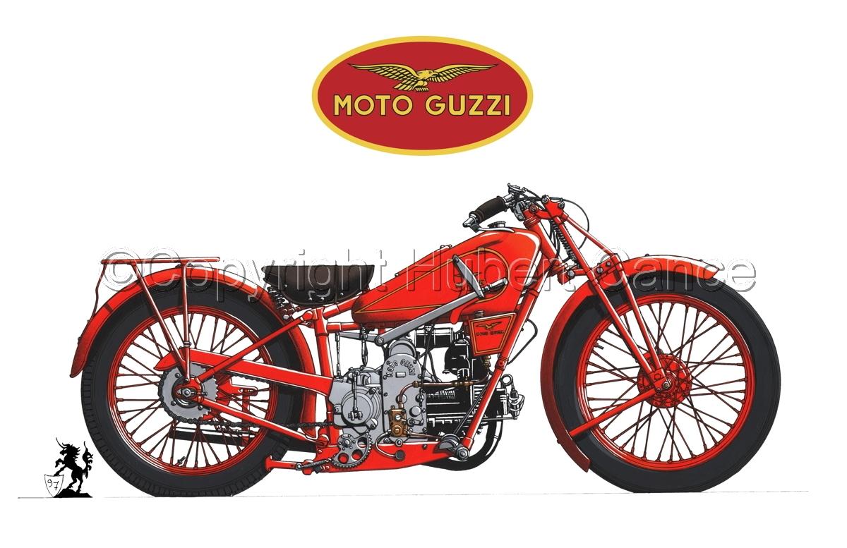 Moto Guzzi 500S (Logo #3.1) (large view)