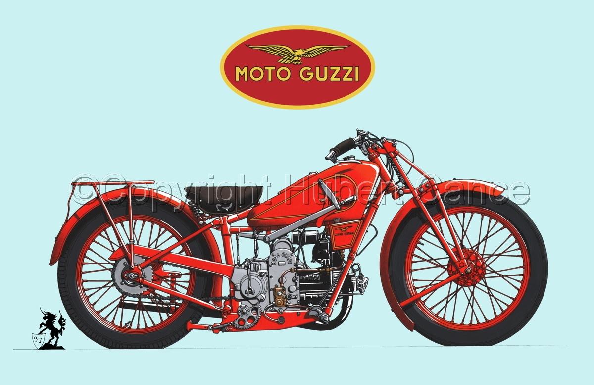 Moto Guzzi 500S (Logo #3.2) (large view)