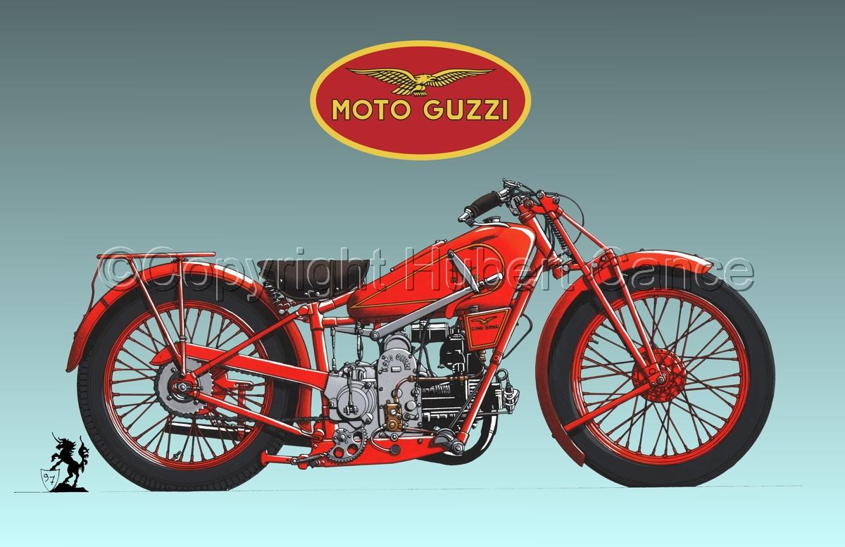 Moto Guzzi 500S (Logo #3.3) (large view)