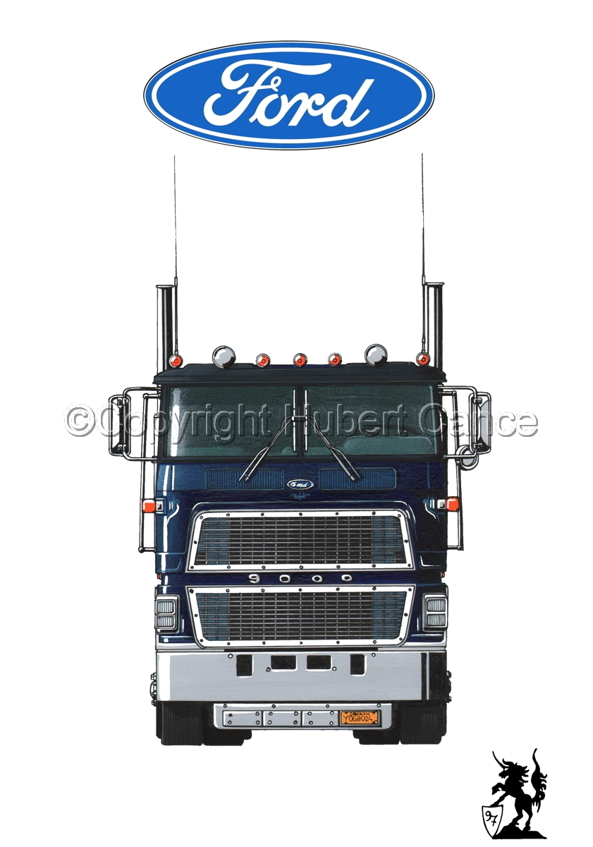 Ford CL9000 Tractor (Logo #1.1) (large view)