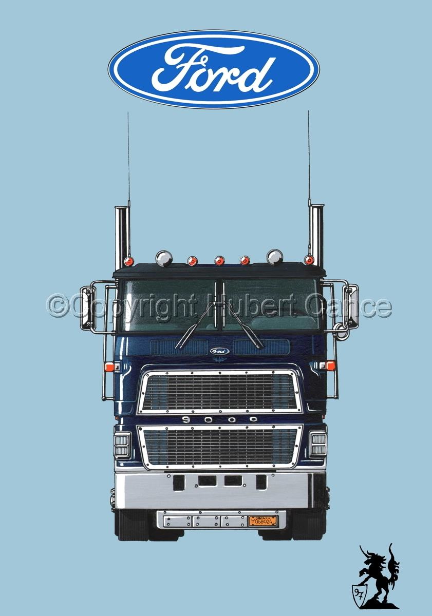Ford CL9000 Tractor (Logo #1.2) (large view)