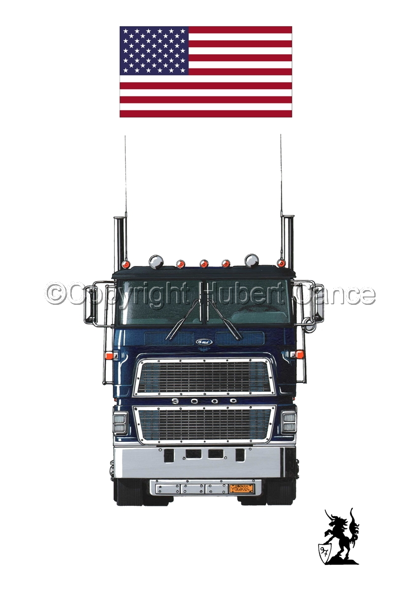 Ford CL9000 Tractor (Flag #1.1) (large view)