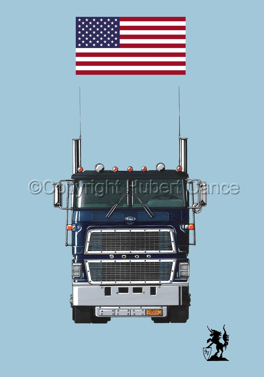 Ford CL9000 Tractor (Flag #1.2) (large view)