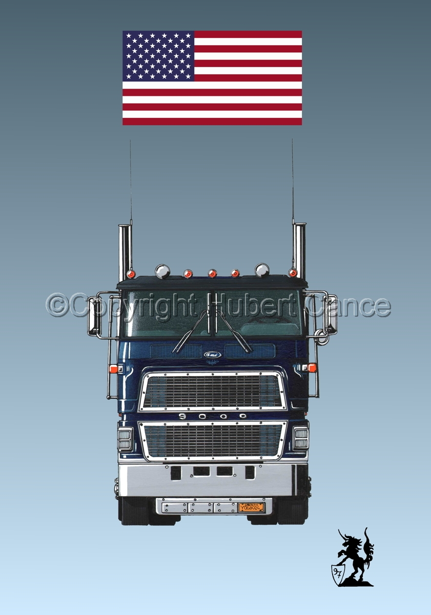Ford CL9000 Tractor (Flag #1.3) (large view)