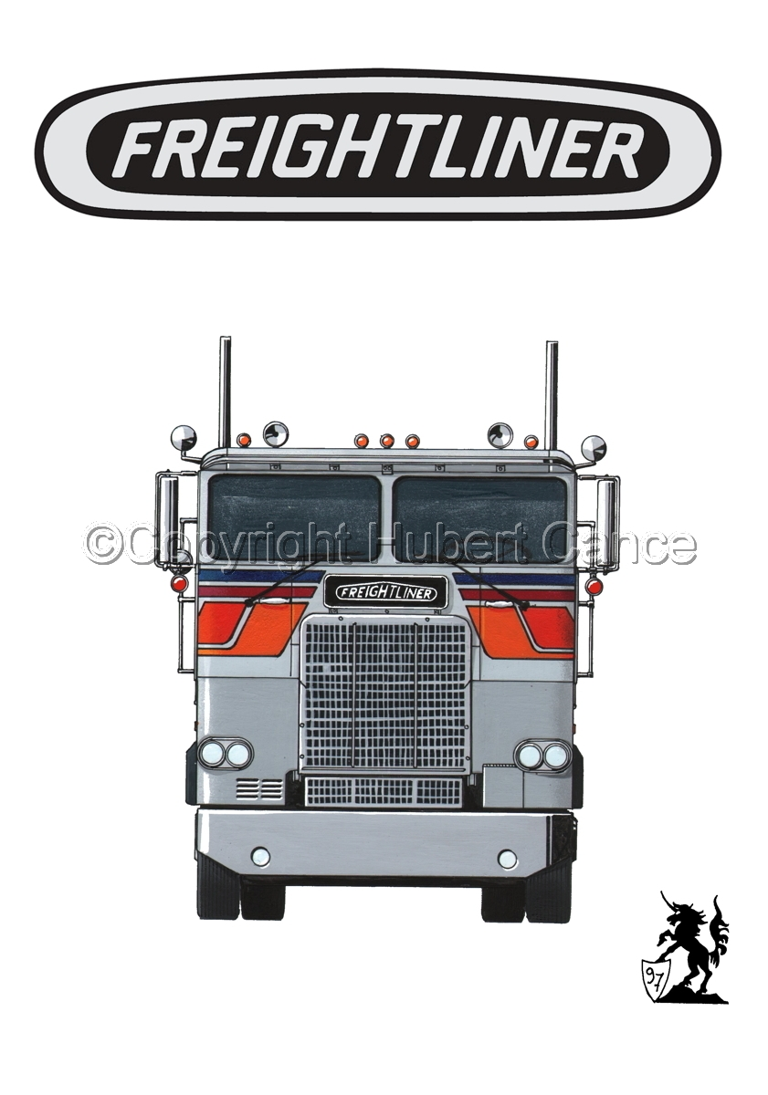 Freightliner COE Tractor (Logo #1.1) (large view)