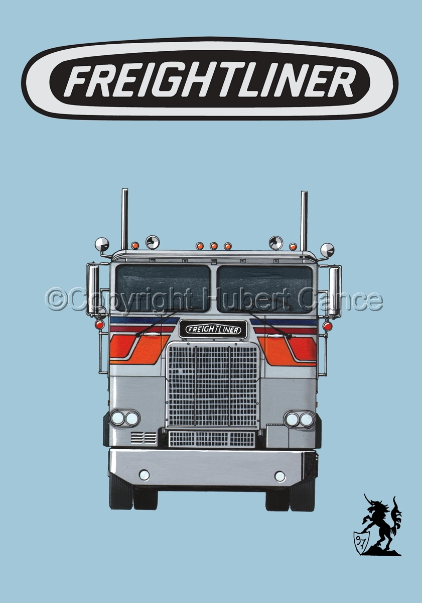 Freightliner COE Tractor (Logo #1.2) (large view)