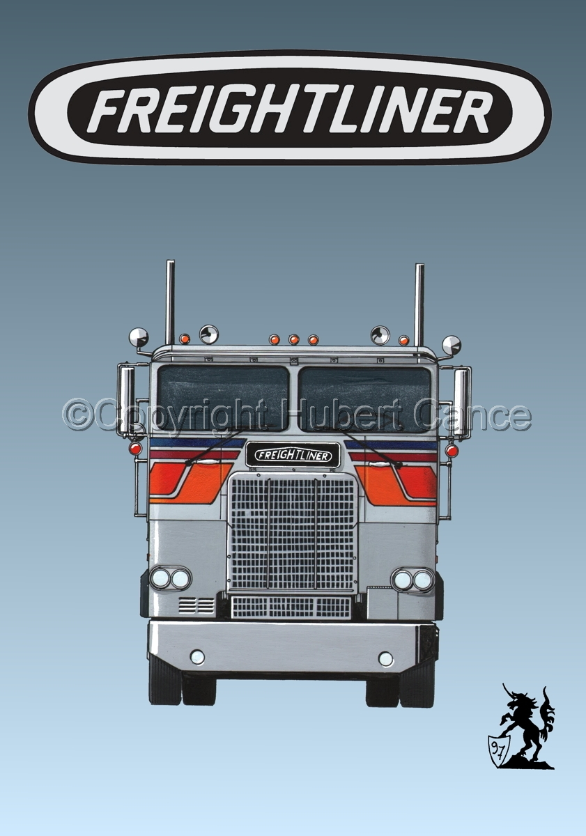Freightliner COE Tractor (Logo #1.3) (large view)
