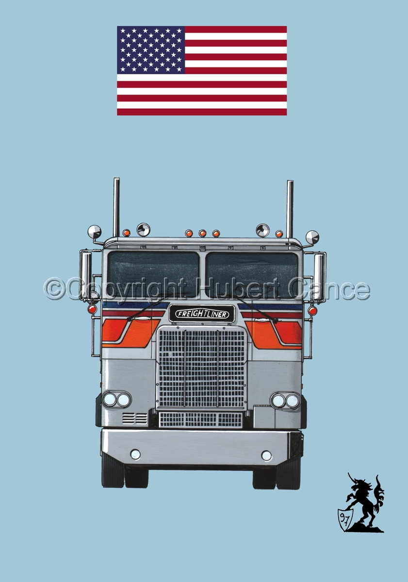 Freightliner COE Tractor (Flag #1.2) (large view)