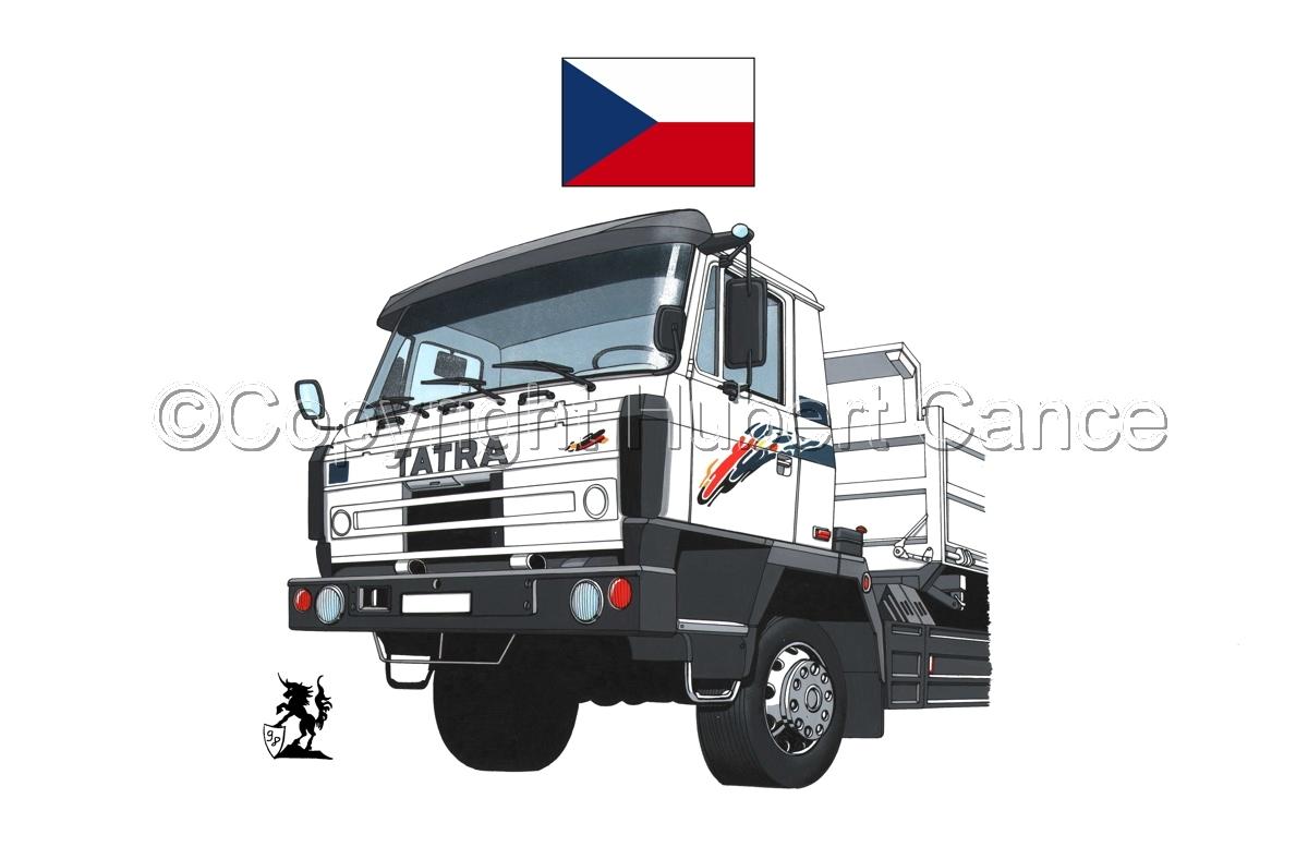 Tatra T815 (Flag #1.1) (large view)
