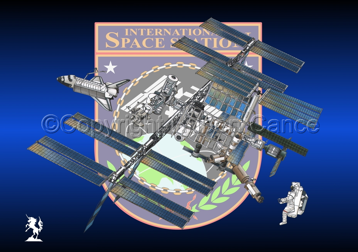International Space Station (Insignia #1) (large view)