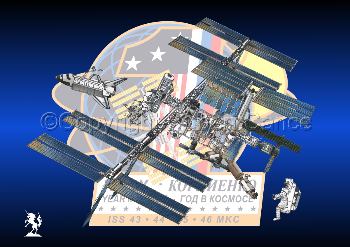 International Space Station (Insignia #2) (large view)