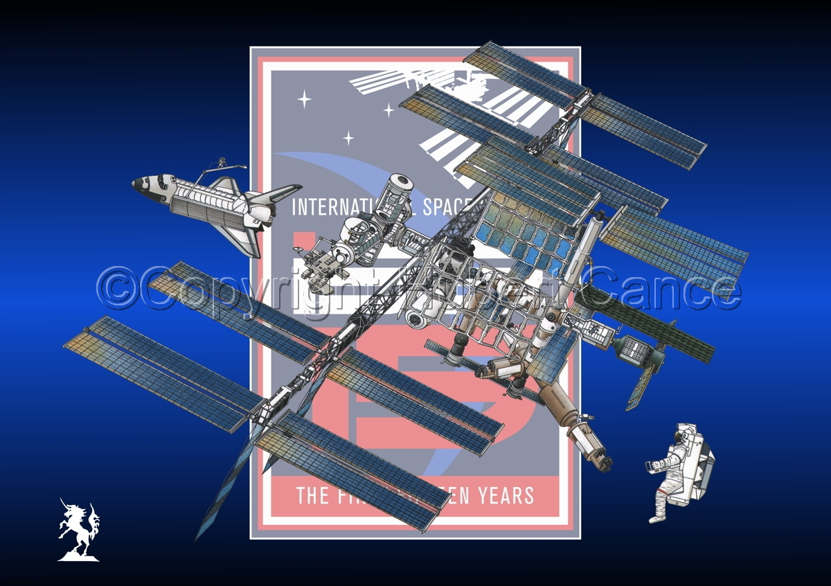 International Space Station (Insignia #3) (large view)