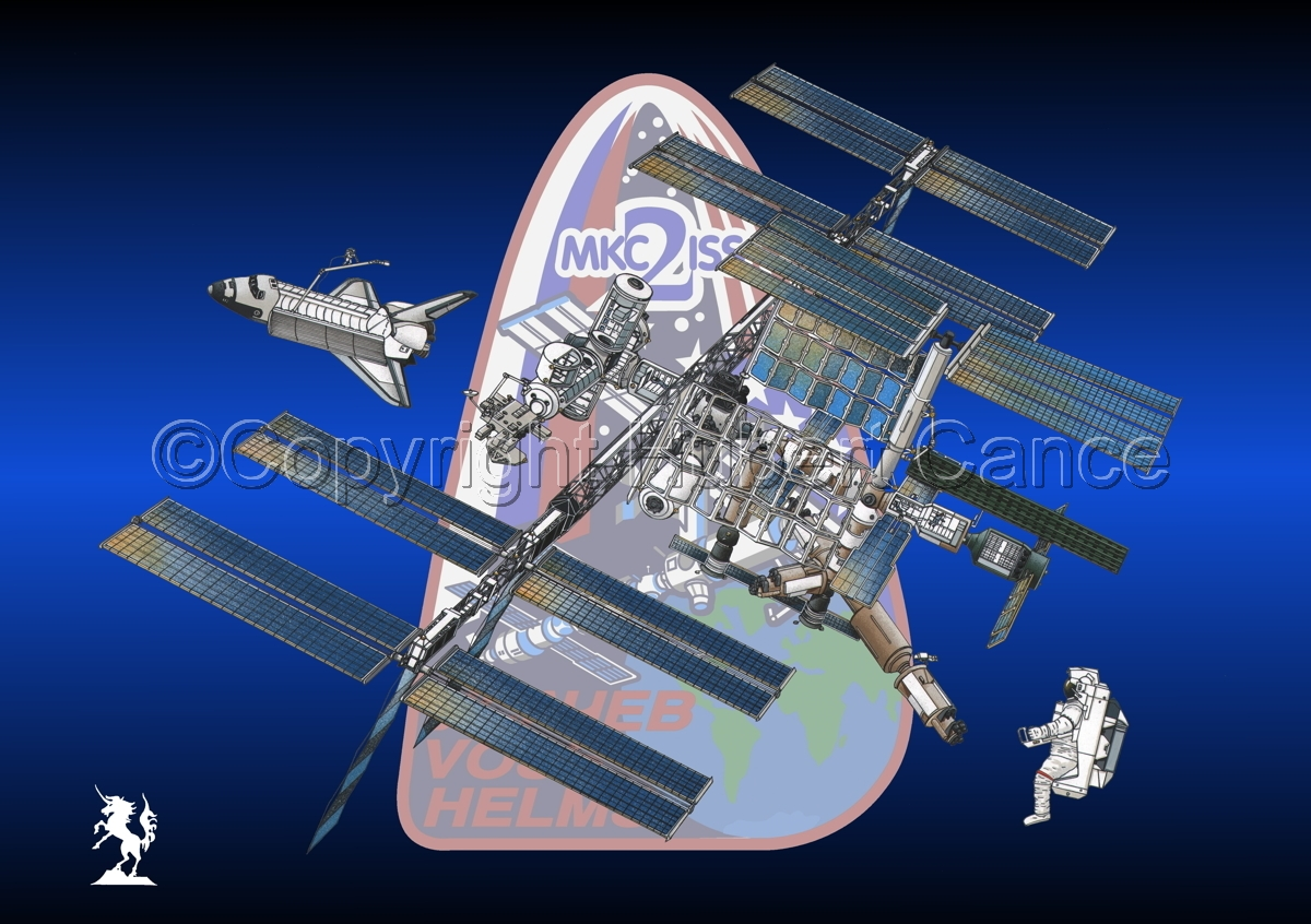 International Space Station (Insignia #5) (large view)