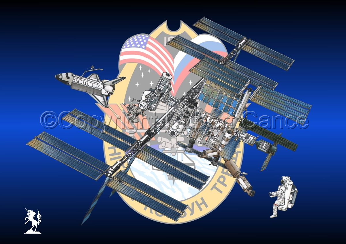 International Space Station (Insignia #8) (large view)