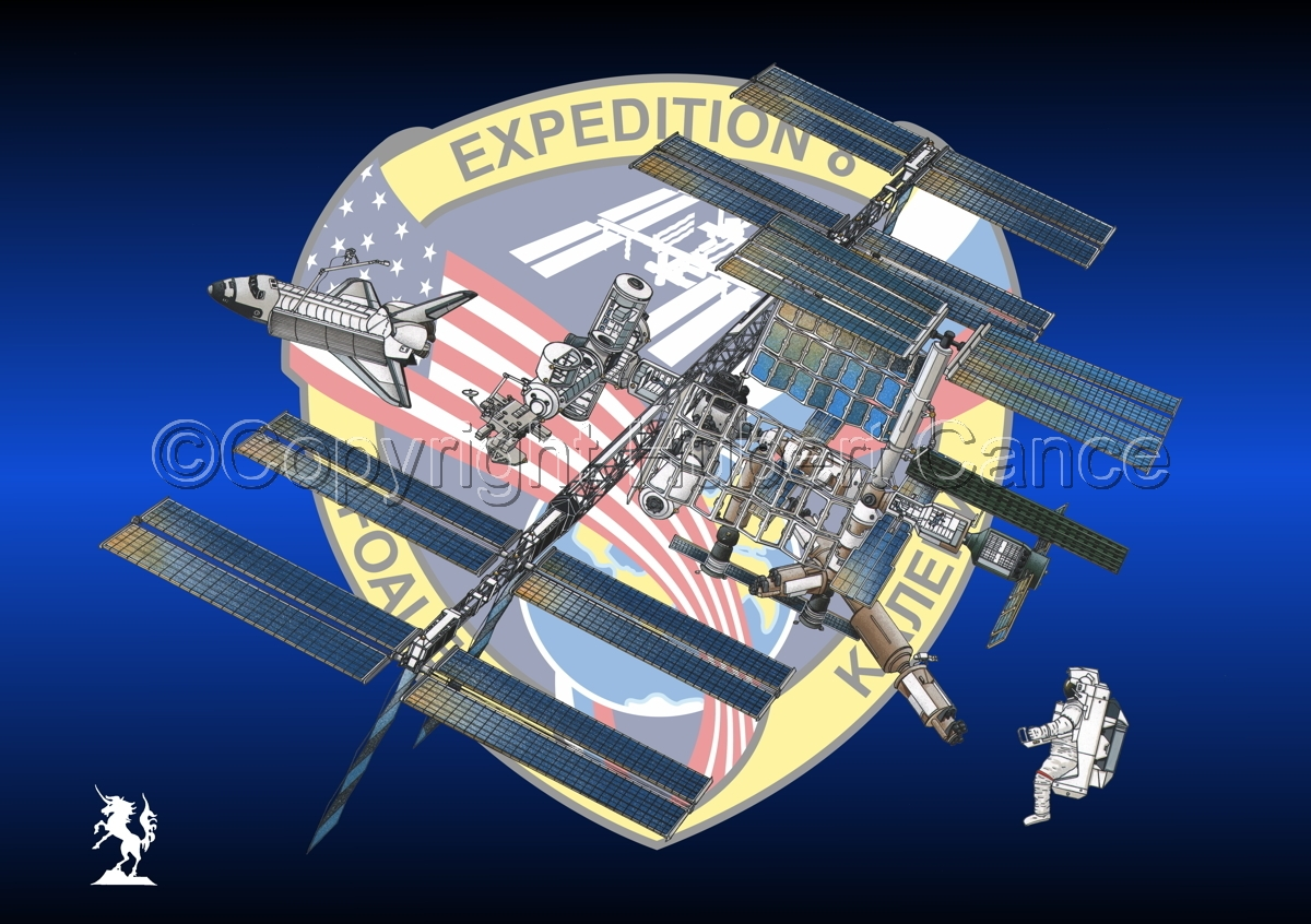 International Space Station (Insignia #11) (large view)
