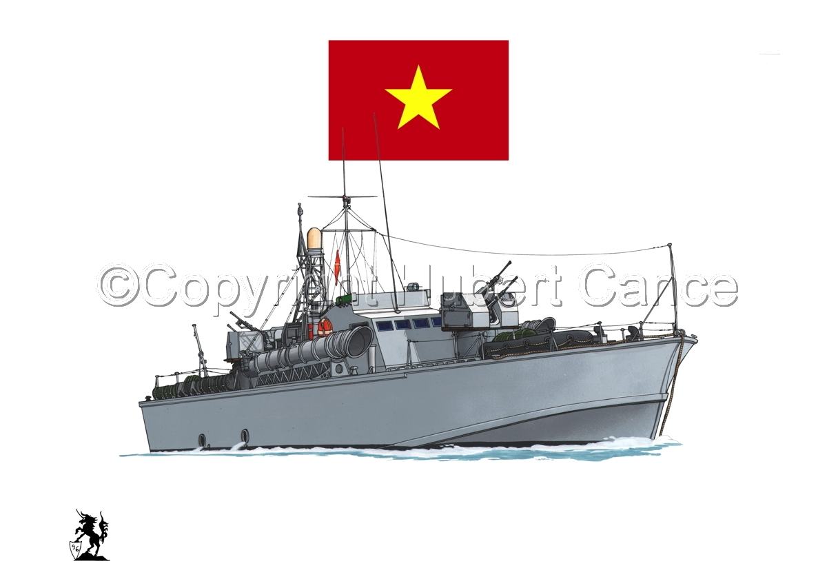 North Vietnamese P6 Torpedo Boat (Flag #1.1) (large view)