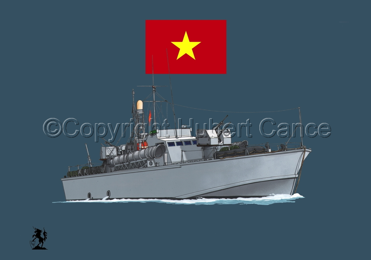 North Vietnamese P6 Torpedo Boat (Flag #1.2) (large view)