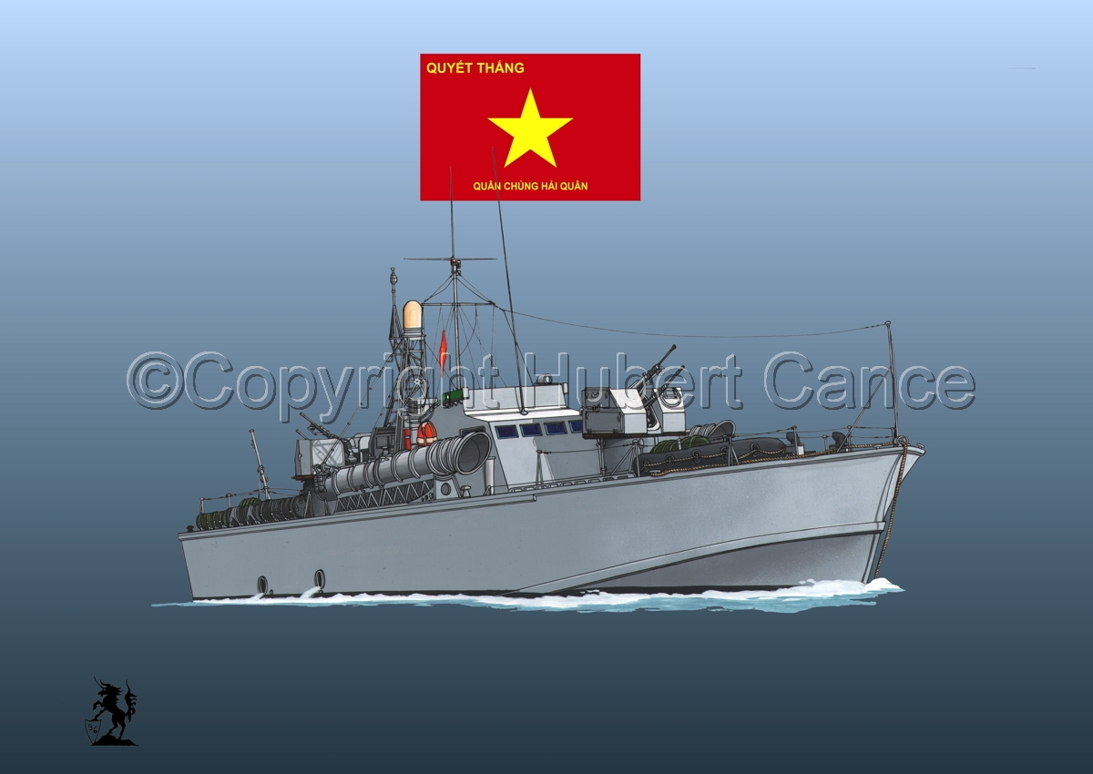 North Vietnamese P6 Torpedo Boat (Flag #3.3) (large view)