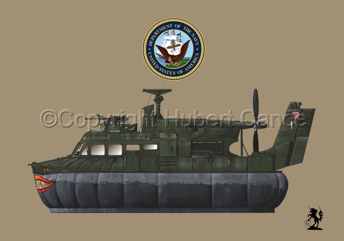 """""""Bell SK-5 """"Delta Monster"""" PACV hovercraft (Insignia #1.2) (large view)"""