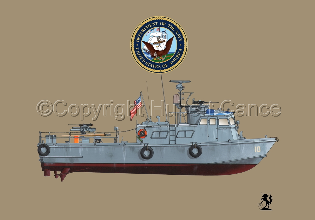 "PCF Mk.I ""Swift Boat"" (Vietnam) (Insignia #1.1.2) (large view)"