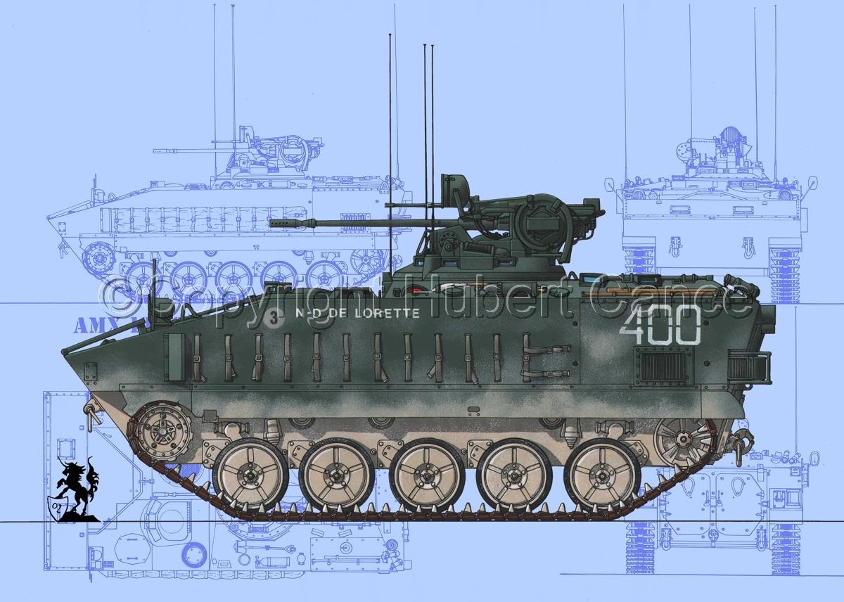 AMX 10PC (Blueprints #1) (large view)