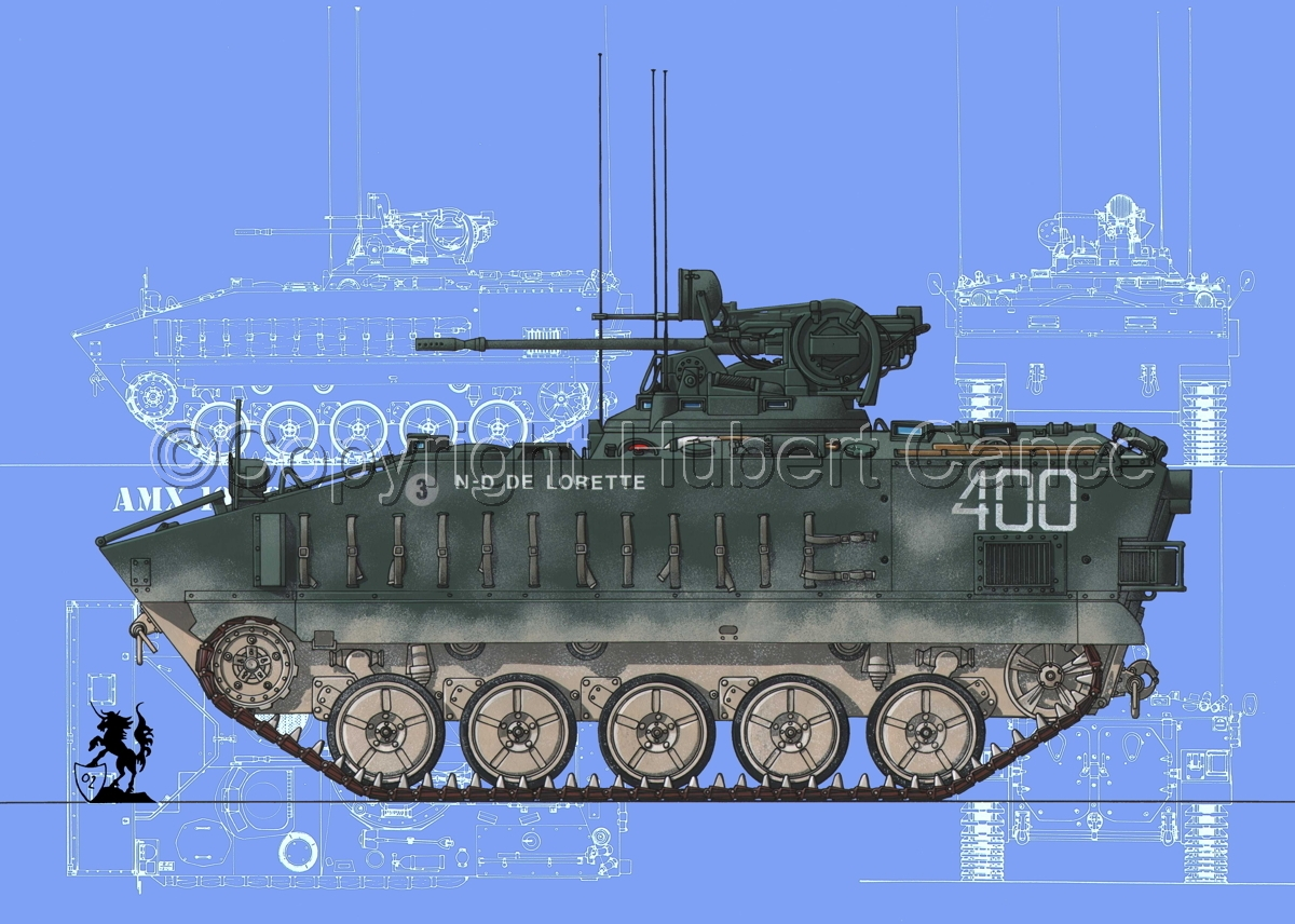 AMX 10PC (Blueprints #2) (large view)