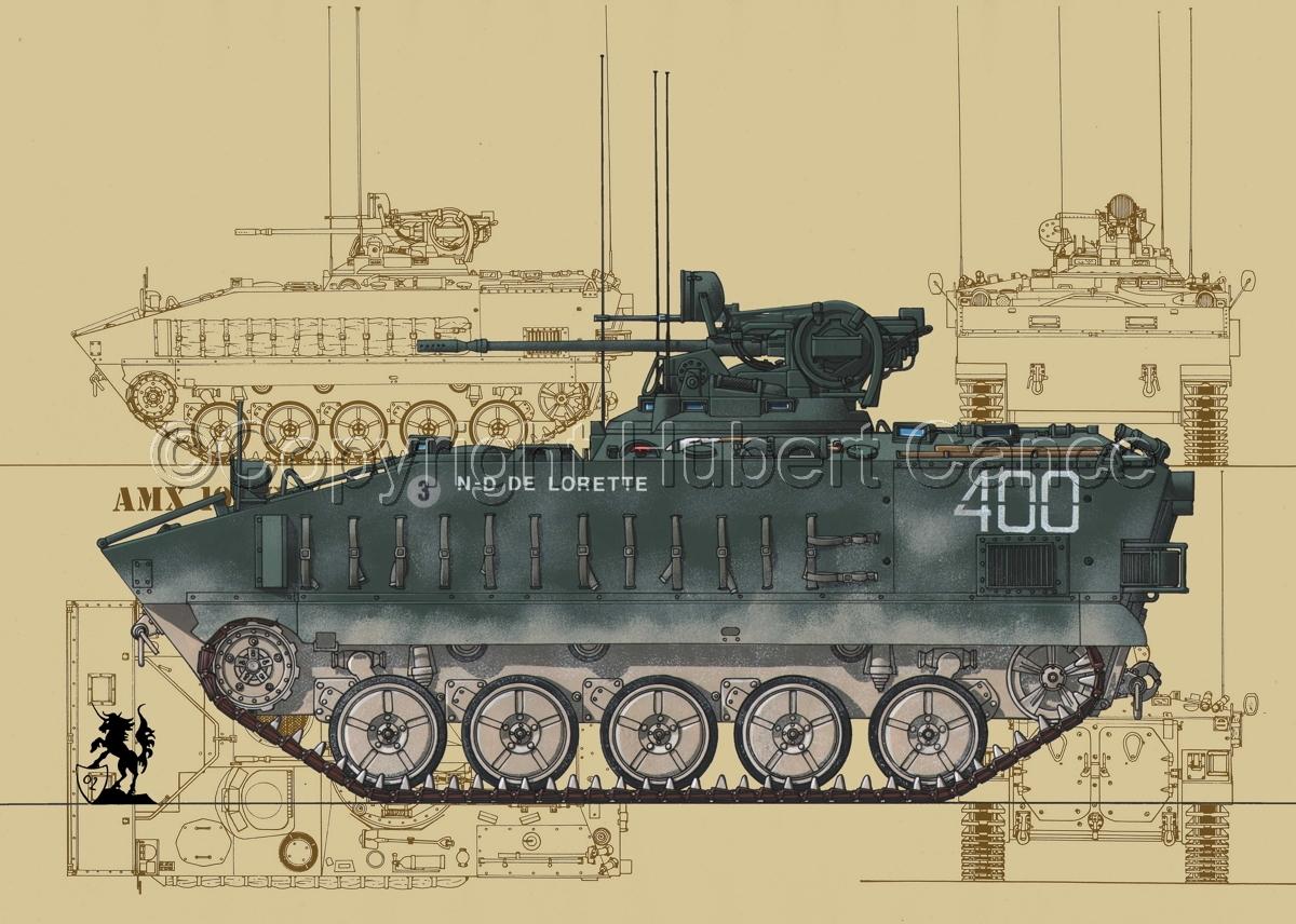 AMX 10PC (Blueprints #4) (large view)