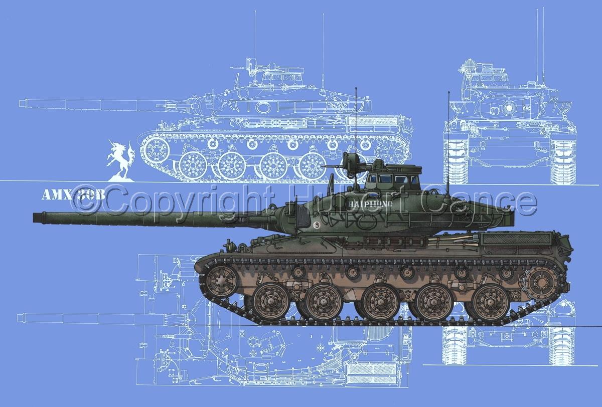 AMX 30B2 (Blueprint #2) (large view)