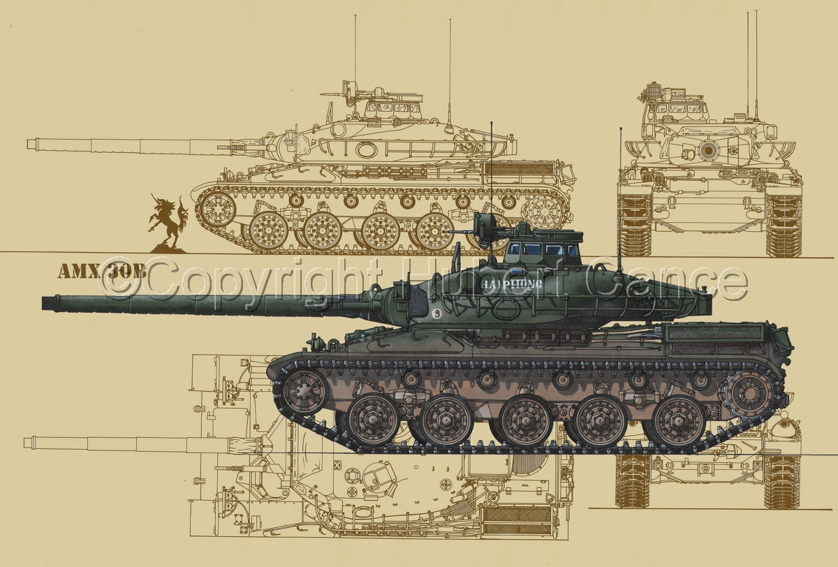 AMX 30B2 (Blueprint #5) (large view)