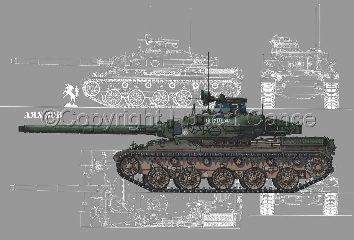 AMX 30B2 (Blueprint #4) (large view)