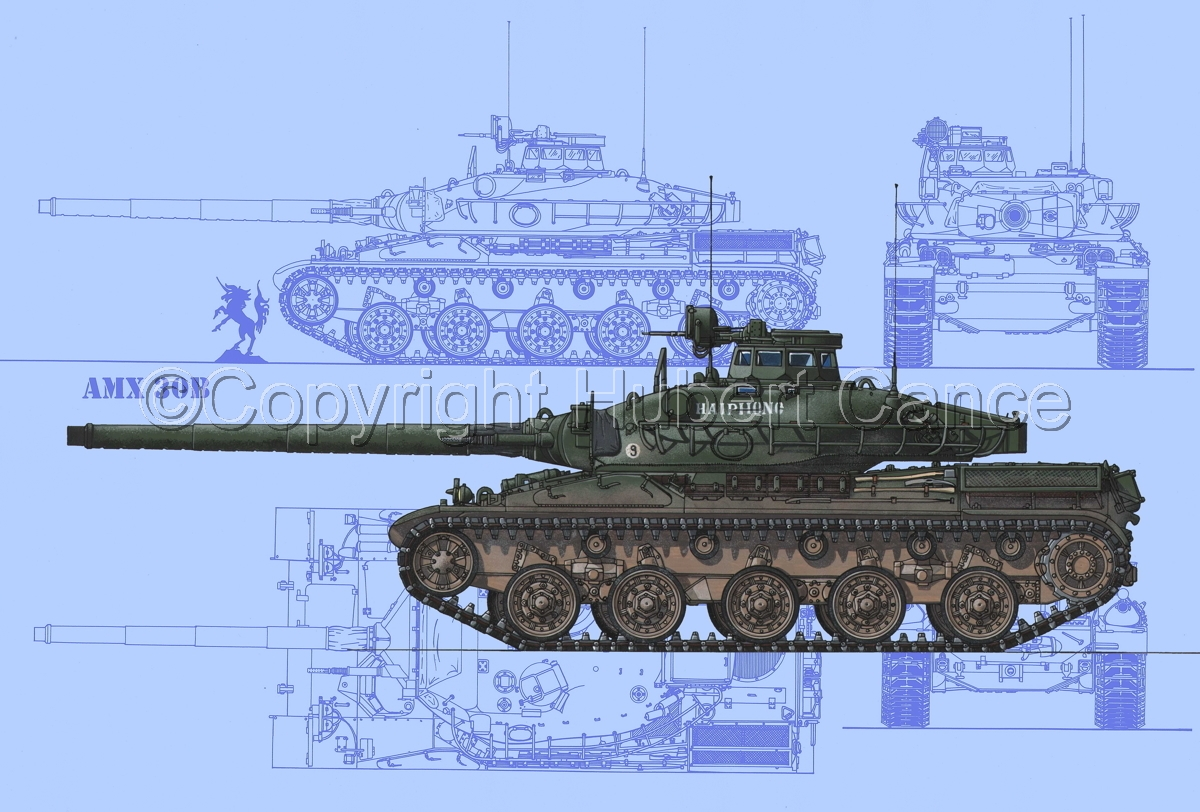 AMX 30B2 (Blueprint #1) (large view)