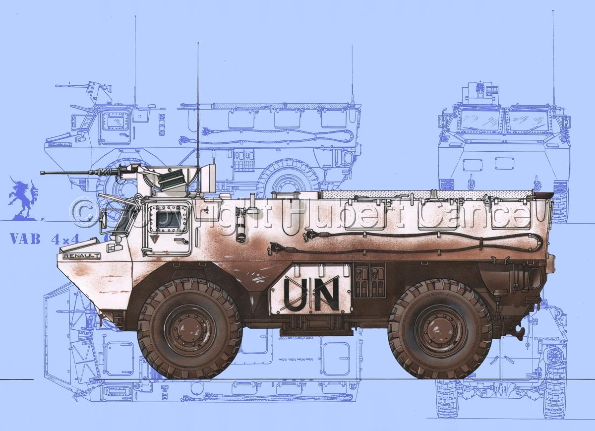 Renault/Saviem VAB 4x4 CB127 (Blueprint #1) (large view)