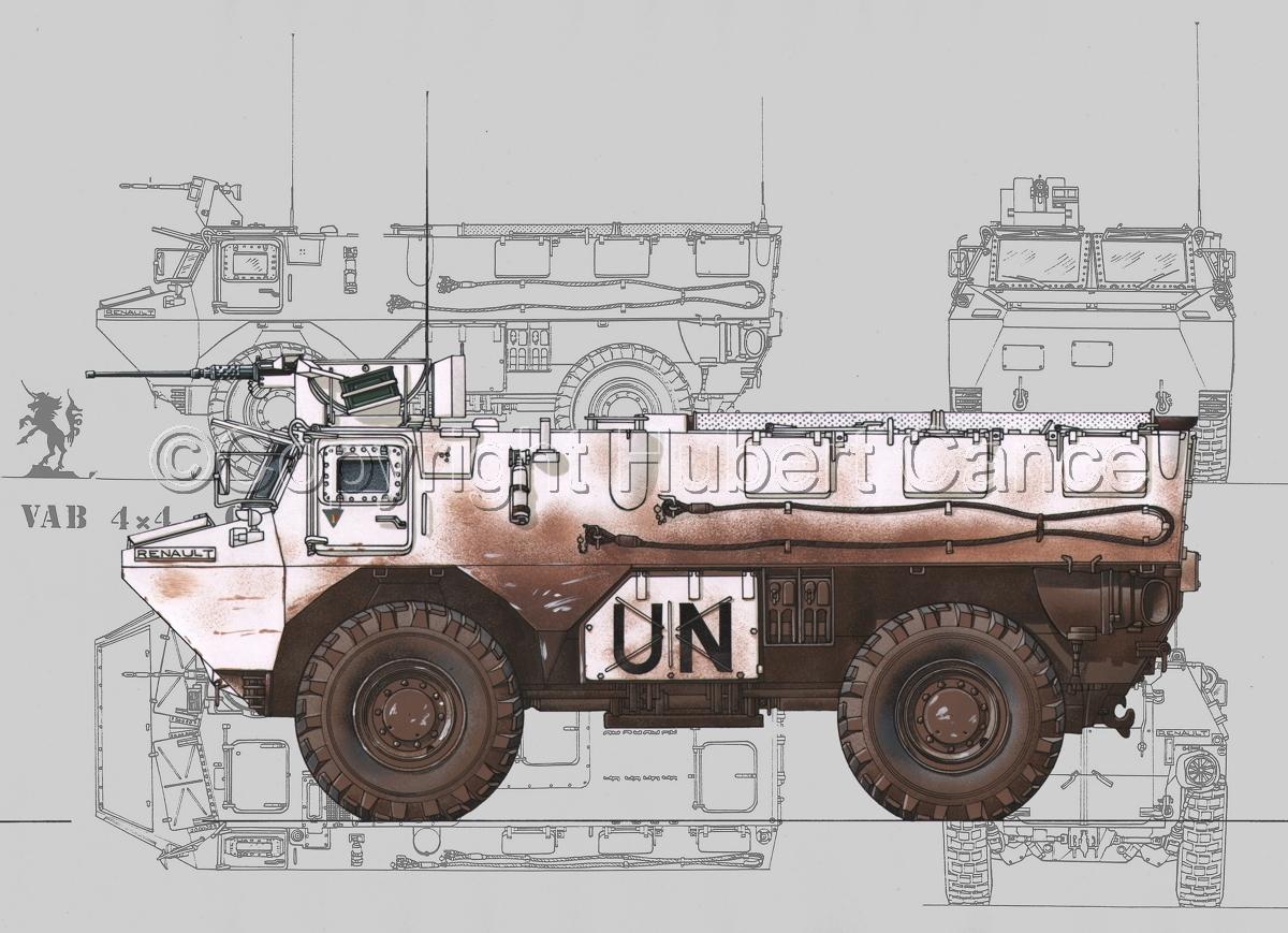 Renault/Saviem VAB 4x4 CB127 (Blueprint #3) (large view)