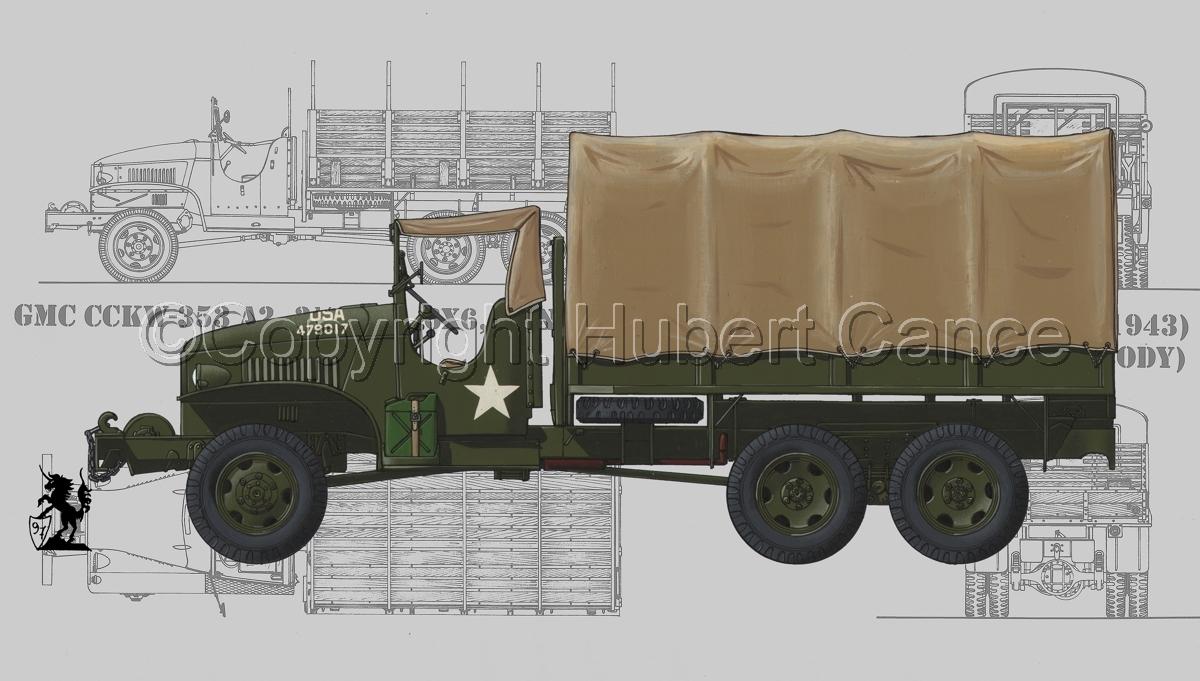 GMC CCKW-353 (Blueprint #3) (large view)