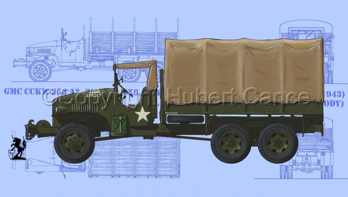 GMC CCKW-353 (Blueprint #1) (large view)