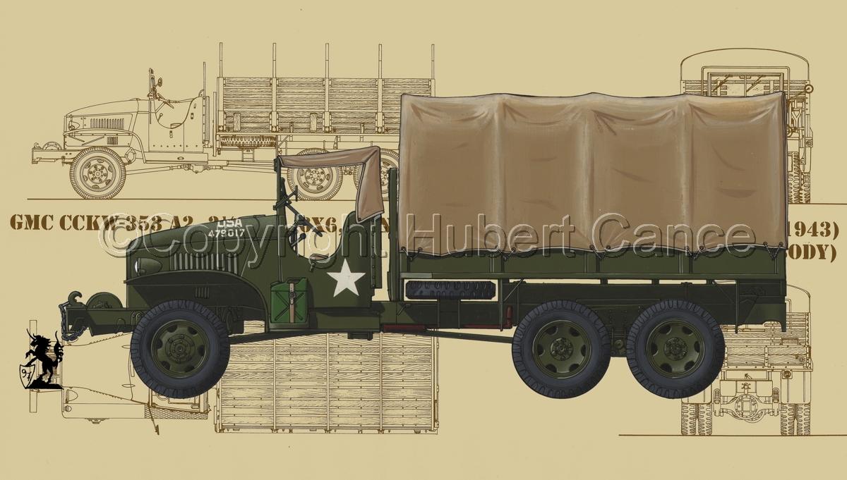 GMC CCKW-353 (Blueprint #5) (large view)