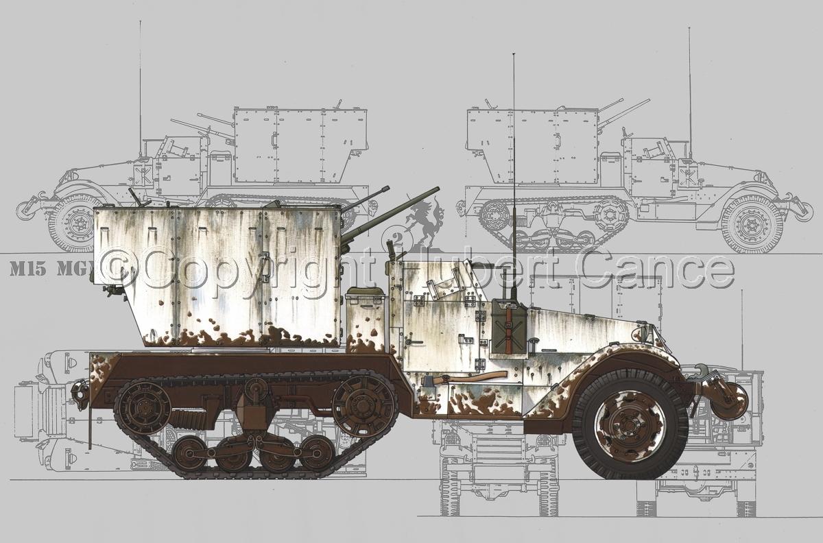 M15 MGMC Half-Track (Blueprint #3) (large view)